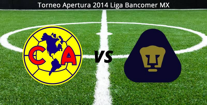 América vs Pumas, Jornada 7 del apertura 2014 - America-vs-Pumas-en-vivo-Apertura-2014