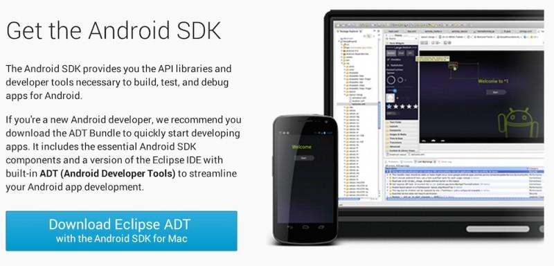 Mejores emuladores de Android para Windows y Mac - Android-SDK-800x384