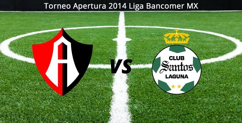 Atlas vs Santos, Jornada 7 Apertura 2014 - Atlas-vs-Santos-en-vivo-Apertura-2014