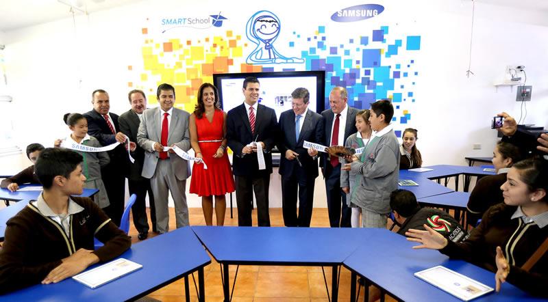 Aula Digital Samsung en Zacatecas Samsung inauguró una nueva aula digital en Zacatecas