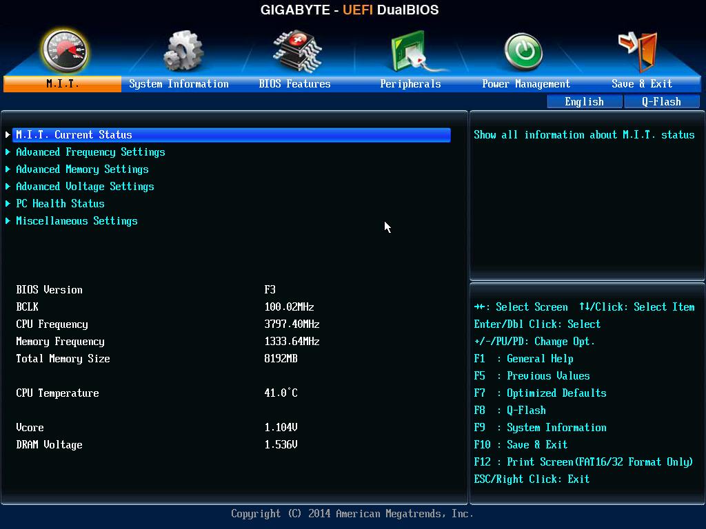 BIOS1 Gigabyte H97M D3H [Reseña]
