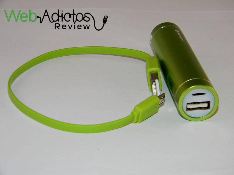 Batería externa Acteck Powerbank; Ligera, compacta y buen precio - Bateria-Externa-Acteck-PowerBank-MVPB-00328