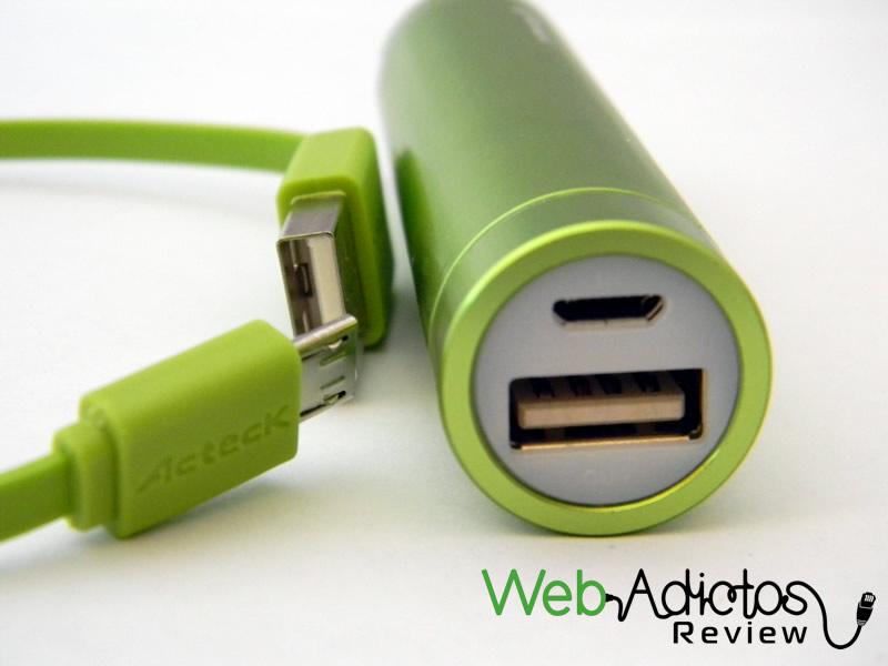 Batería externa Acteck Powerbank; Ligera, compacta y buen precio - Bateria-Externa-Acteck-PowerBank-MVPB-00332