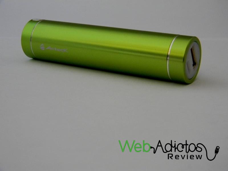 Batería externa Acteck Powerbank; Ligera, compacta y buen precio - Bateria-Externa-Acteck-PowerBank-MVPB-00337