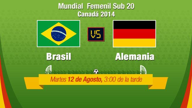 Brasil vs Alemania, Mundial Femenil sub 20 - Brasi-vs-Alemania-en-vivo-Mundial-Femenil-Sub-20