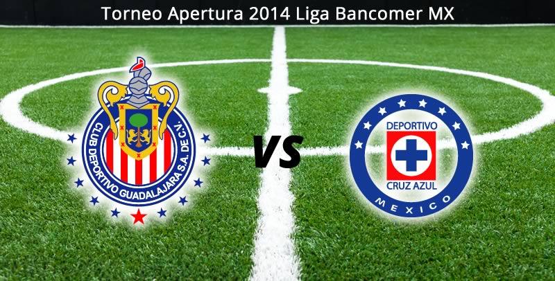 Chivas vs Cruz Azul, Jornada 7 del Apertura 2014 - Chivas-vs-Cruz-Azul-en-vivo-Apertura-2014