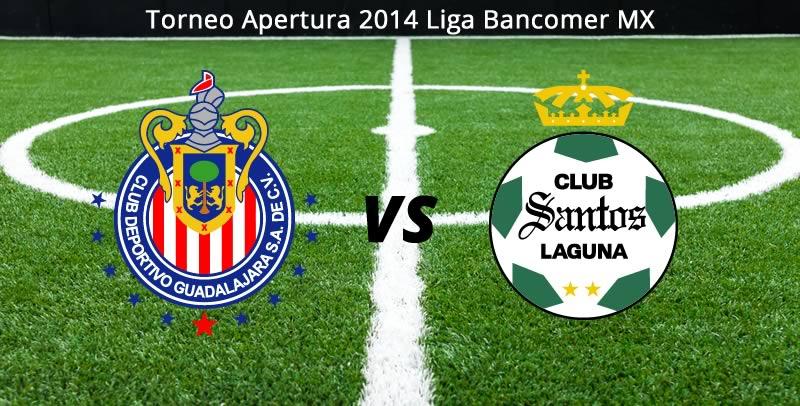 Chivas vs Santos, Jornada 5 Apertura 2014 - Chivas-vs-Santos-Apertura-2014