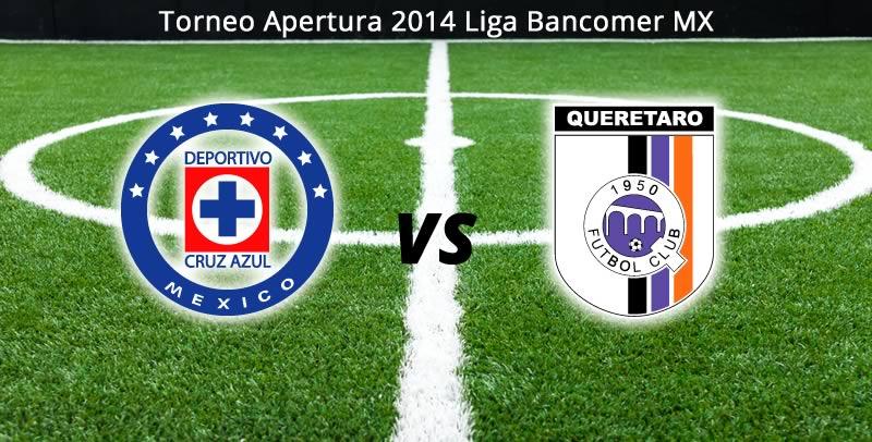 Cruz Azul vs Querétaro, Jornada 6 del Apertura 2014 - Cruz-Azul-vs-Queretaro-en-vivo-Apertura-2014