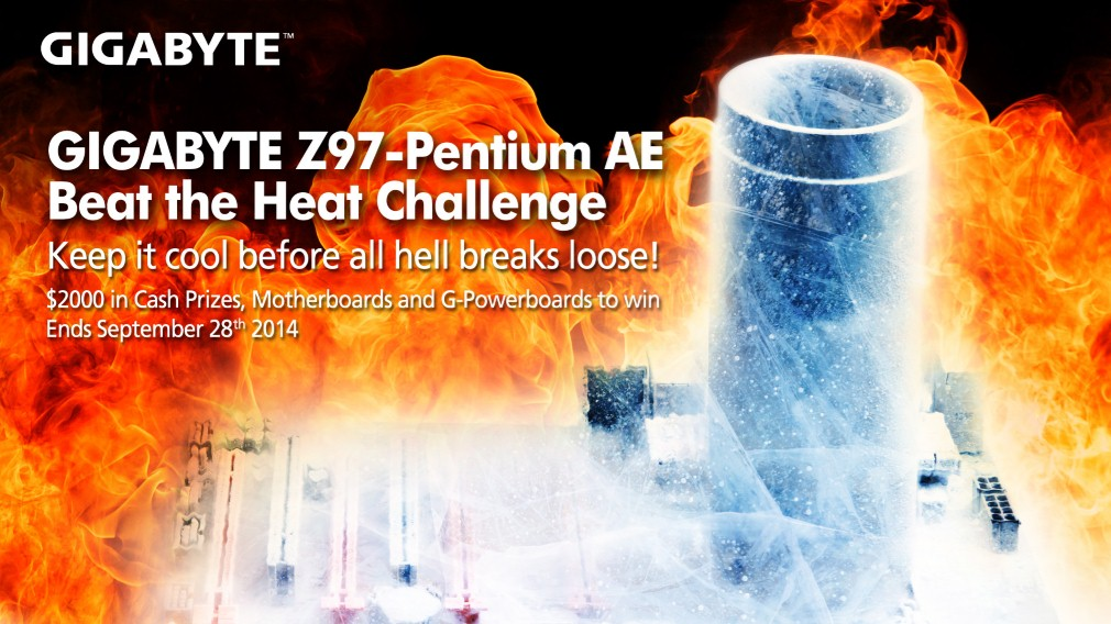 Imagen1 Reto GIGABYTE Z97 Pentium® AE Beat the Heat Challenge organizado en HWBot