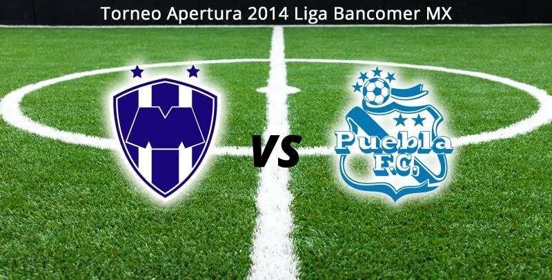 Monterrey vs Puebla en la Jornada 6 del Apertura 2014 - Monterrey-vs-Puebla-en-vivo-Apertura-2014