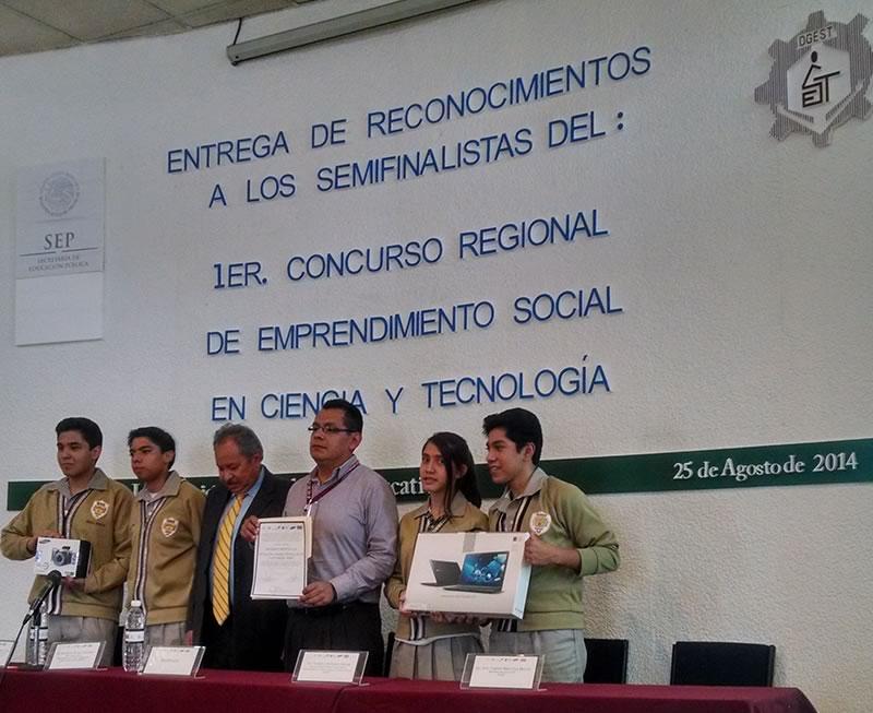 """Entregan reconocimientos a los semifinalistas de """"Soluciones para el Futuro"""" - Premios-Semifinalitas-Soluciones-para-el-Futuro"""