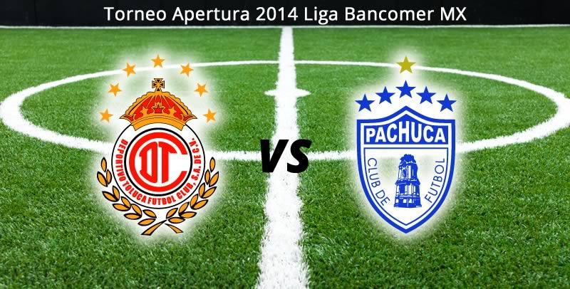 Toluca vs Pachuca por internet, Jornada 5 Apertura 2014 - Toluca-vs-Pachuca-en-vivo-Apertura-2014