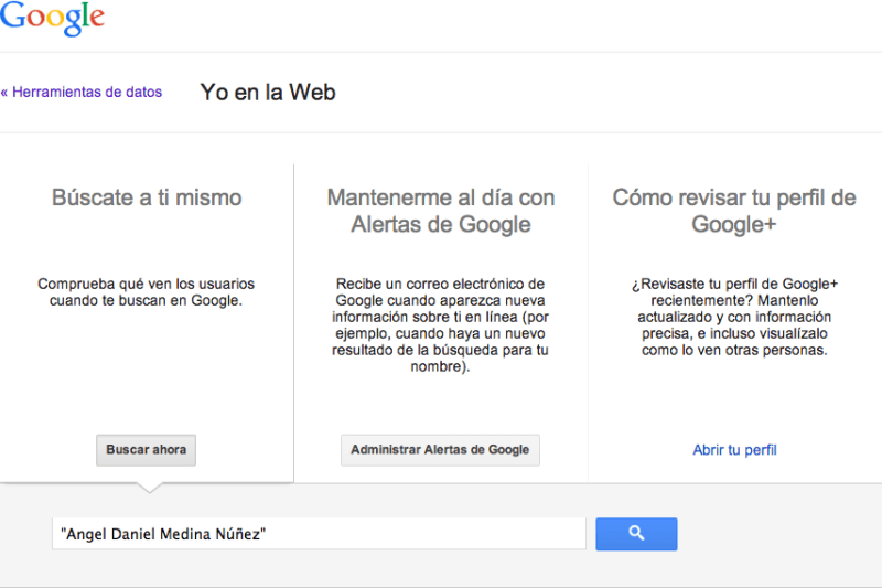 Yo en la Web Google 800x533 Yo en la Web, lo nuevo de Google para saber cuando te mencionan en internet