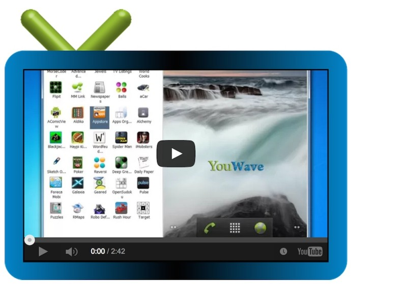 Mejores emuladores de Android para Windows y Mac - YouWave-emulador-android-800x559