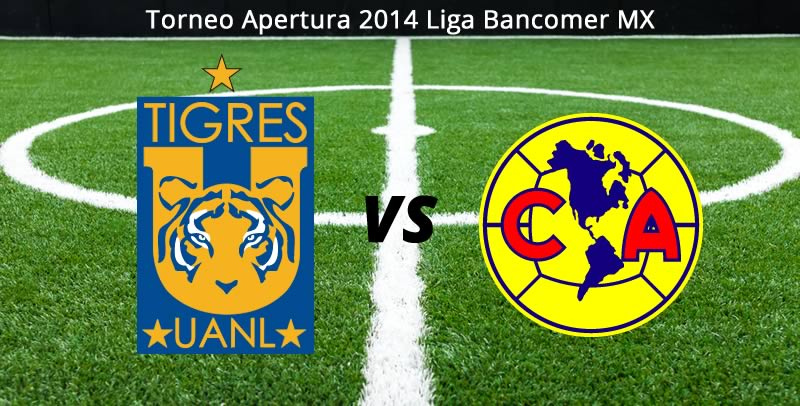 América vs Tigres, Jornada 4 del Apertura 2014 - america-vs-tigres-en-vivo-apertura-2014