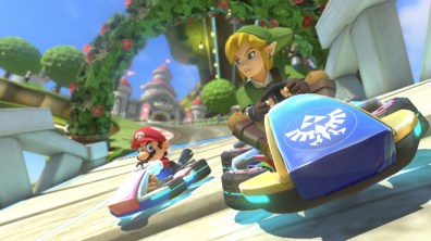 Link de The Legend of Zelda llega por primera vez a Mario Kart 8 como DLC - mario-kart-8-dlc-3