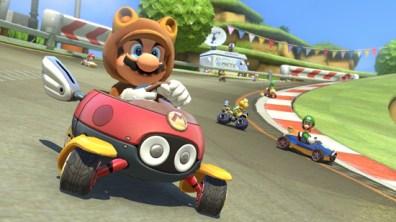 Link de The Legend of Zelda llega por primera vez a Mario Kart 8 como DLC - mario-kart-8-dlc-4