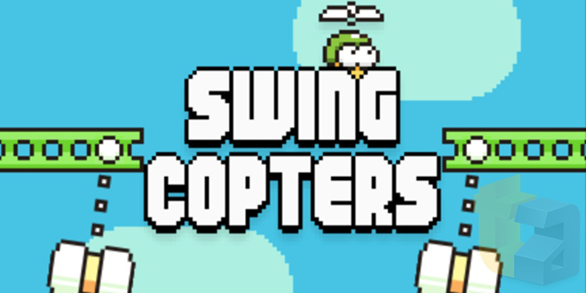 De los creadores de Flappy Bird llega: Swing Copters - swing-copters