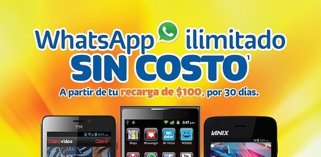WhatsApp ilimitado en Amigo de Telcel ¡Conoce sus nuevas tarifas! - whatsapp-ilimitado-telcel
