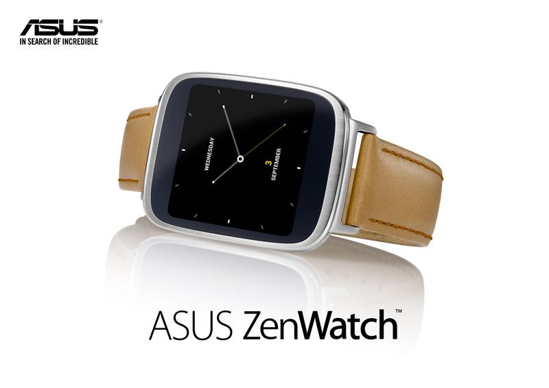 ASUS ZenWatch ASUS ZenWatch, el reloj inteligente de ASUS es anunciado en IFA 2014