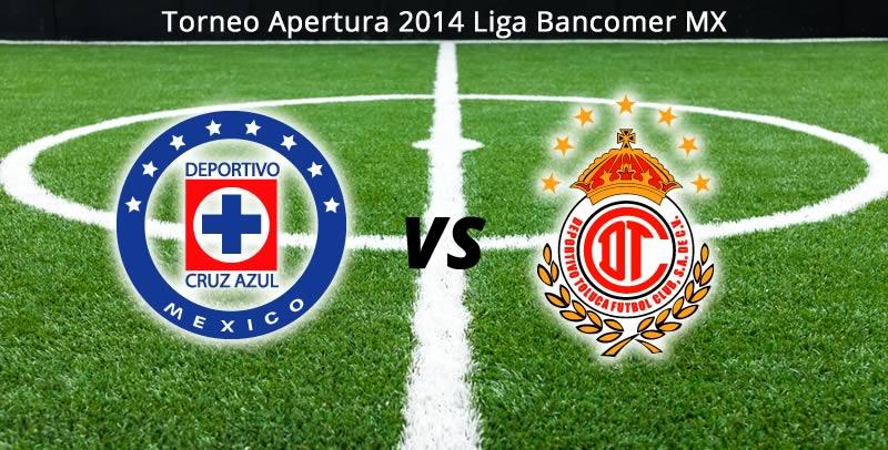 Cruz Azul vs Toluca, Jornada 8 del Apertura 2014 - Cruz-Azul-vs-Toluca-en-vivo-Apertura-2014