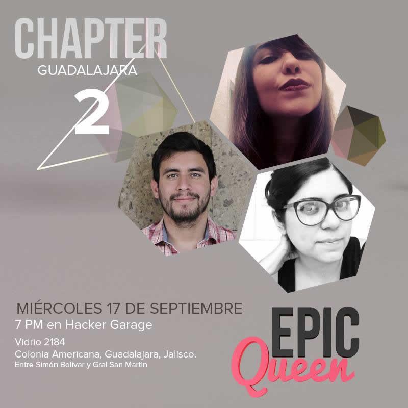 Epic Queen Guadalajara: Chapter 2, este 17 de Septiembre - Epic-Queen-Guadalajara-Chapter-2-800x800