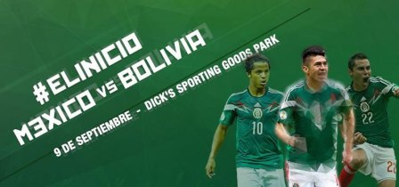 México vs Bolivia, partido Amistoso 2014 (9 de Septiembre)