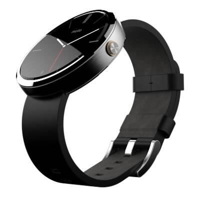 Conoce el Moto 360, el smartwatch de Motorola que desearas tener - Moto-360-Correa-Negra