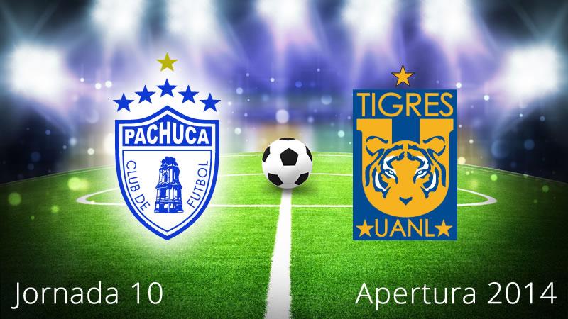 Pachuca vs Tigres, Jornada 10 Apertura 2014 - Pachuca-vs-Tigres-en-vivo-Apertura-2014-Jornada-10