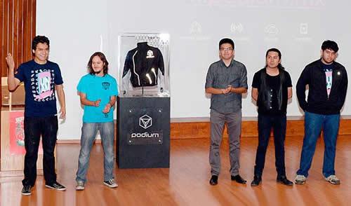 Podium, una chamarra inteligente para deportistas elaborada en UNAM - Podium-UNAM