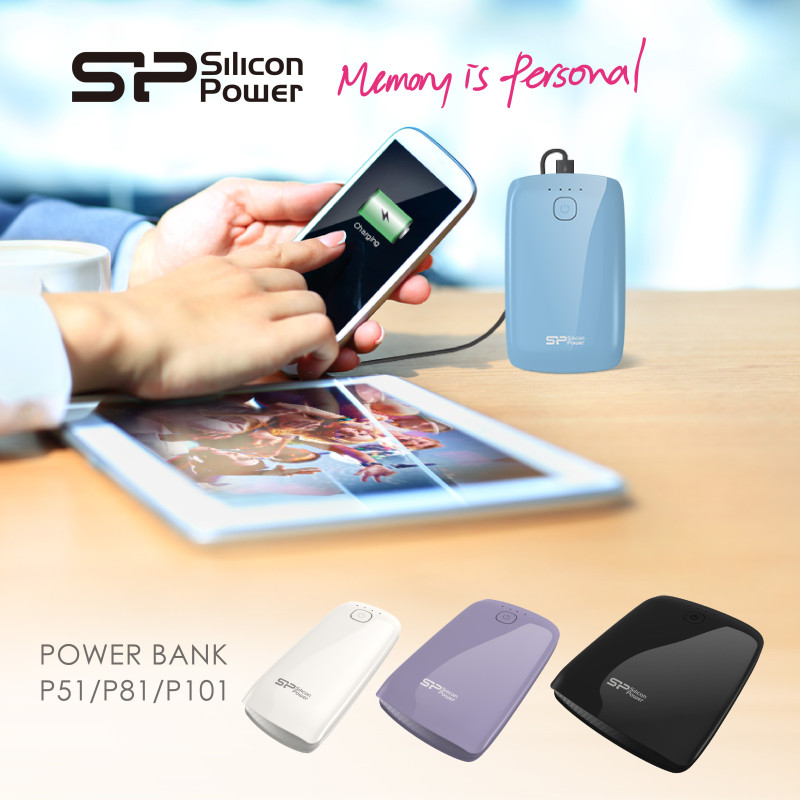 Nuevos Power bank de Silicon Power - SPPR_Power-P51-P81-P101-Power-Bank_KV-800x800