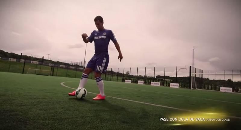 Los nuevos trucos de FIFA 15 explicados por Eden Hazard - Trucos-FIFA-15-Eden-Hazard