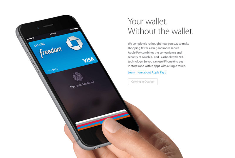 apple pay 800x539 Estos son los nuevos iPhone 6 y iPhone 6 Plus
