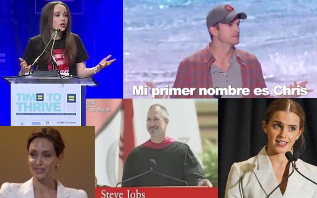 Discursos de famosos que han hecho historia - discurso-famosos