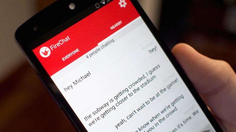 Firechat: La app para evadir la censura en Hong Kong - firechat