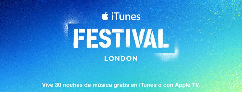 Arranca el iTunes Festival 2014 y estos son los conciertos gratis que podrás ver - iTunes-Festival-2014