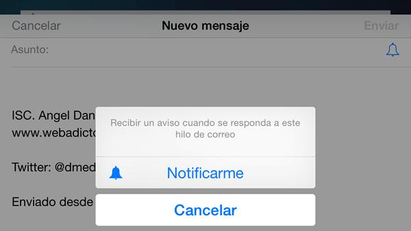 Esto es lo nuevo que puedes hacer con iOS 8 en tu iPhone y iPad - notificaciones-por-correo-iOS-8