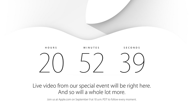 Puedes ver la presentación del iPhone 6 de Apple en vivo en streaming - presentacion-de-iPhone-6-de-Apple-en-vivo
