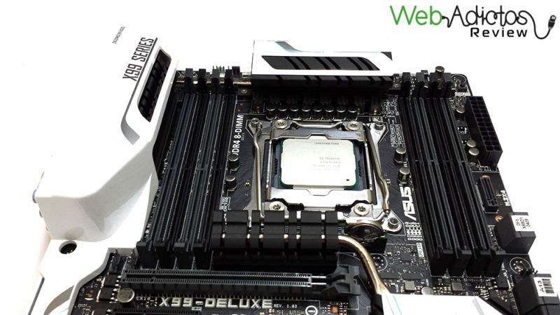 Motherboard ASUS X99 Deluxe [Reseña] - 61-800x450