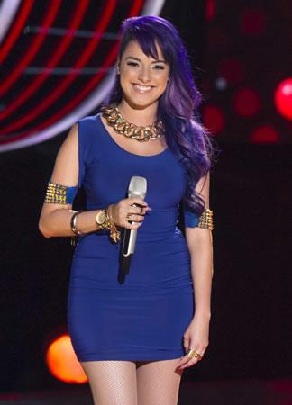 Esto pasó en La Voz México 2014 en su quinta noche de audiciones - Betzaida-Ramirez-La-Voz-Mexico-2014