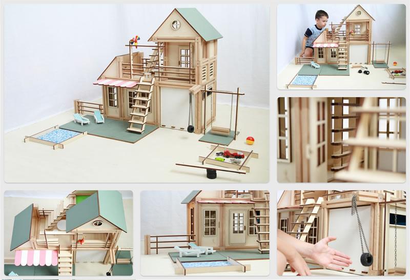 WoodyMac, el set de bloques de construcción de madera con imanes que te encantará - Bloques-Madera-WoodyMac