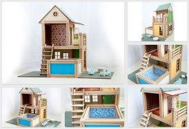 WoodyMac, el set de bloques de construcción de madera con imanes que te encantará - Bloques-WoodyMac