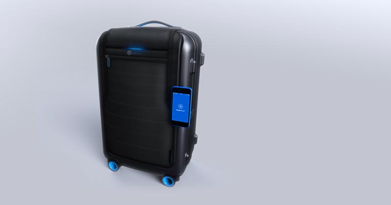Bluesmart, la primera maleta inteligente - Bluesmart-iPhone-maleta-inteligente