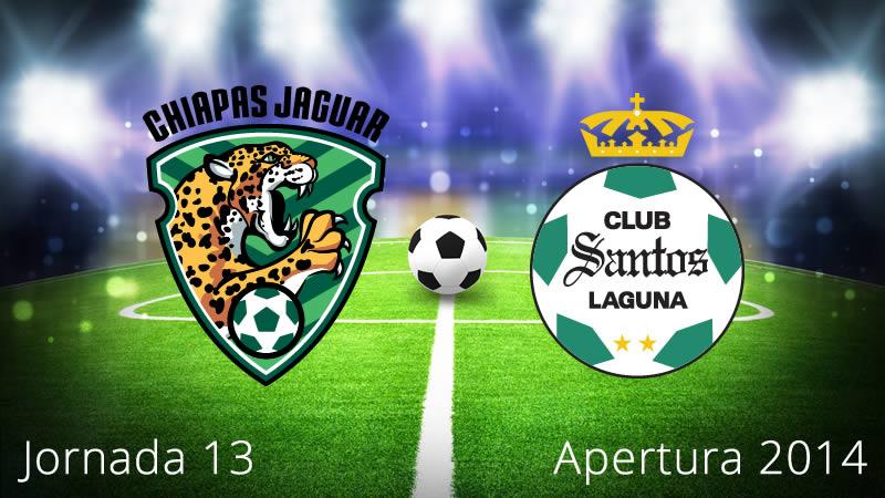 Chiapas vs Santos, Jornada 13 Apertura 2014 - Chiapas-vs-Santos-en-vivo-Apertura-2014