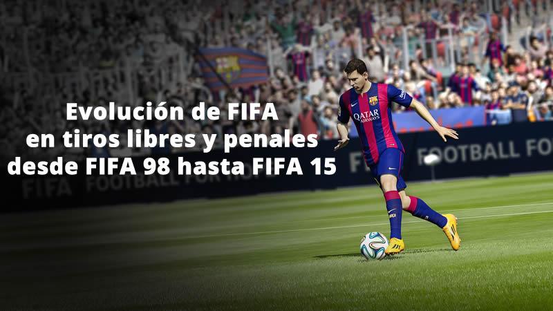 Checa la evolución de FIFA en tiros libres y penales de FIFA 98 a FIFA 15 - Evolucion-de-FIFA