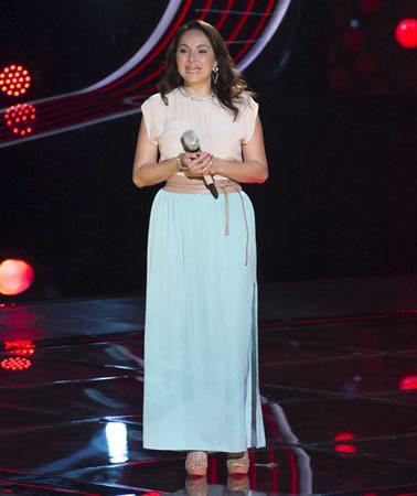 Esto pasó en La Voz México 2014 en su quinta noche de audiciones - La-Voz-Mexico-2014-Claudia-Isabel