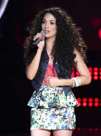 Esto pasó en La Voz México 2014 en su quinta noche de audiciones - La-Voz-Mexico-2014-Evelyn-Molina
