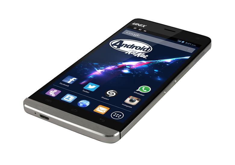 Lanix lanza 4 smartphones con procesadores MediaTek de 2 y 4 núcleos - Lanix-ilium-S670-Titanio