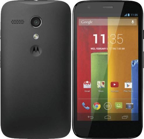 Los mejores smartphones de gama media disponibles en México a la fecha - Motorola-Moto-G-1