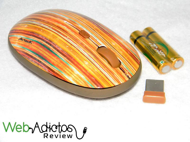 Workmate de Acteck un Mouse inalámbrico con estilo - Mouse-Workmate-de-Acteck-2398